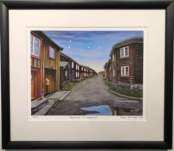 Bilde av Oline Bergebakken Sundt - Speilbildet av