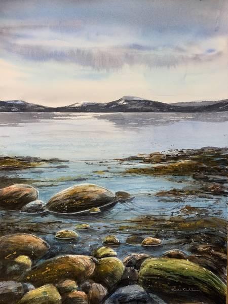 Bilde av Hilde Karlsen - Fjæra sjø