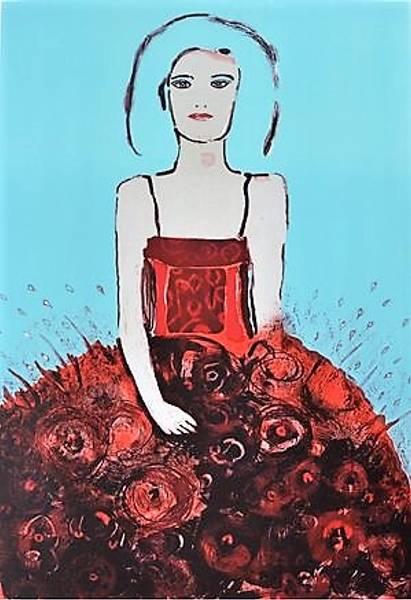 Bilde av May Lise Hoel - The Girl With The Chinese Dress