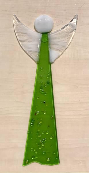 Bilde av Hengende engel - grønn